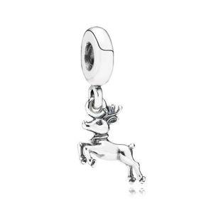 🌼 Authentic Pandora Reindeer Charm